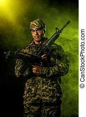 militar, concepto