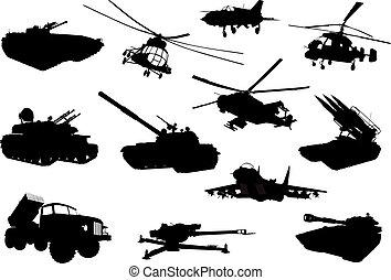militar, conjunto