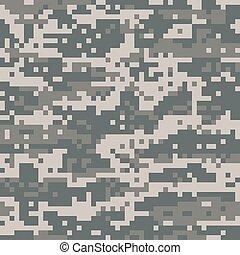 militar, digital, camo, norteamericano