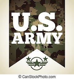 militar, emblema