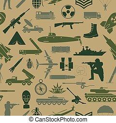 militar, experiência., seamless