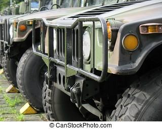 militar, fora-estrada, veículos