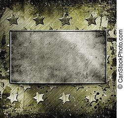 militar, grunge, plano de fondo