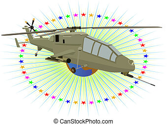 militar, helicopter.