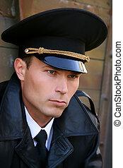 militar, hombre
