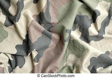 militar, padrão tecido