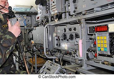 militar, rádio