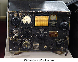 militar, radio, telégrafo