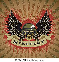 militar, símbolo