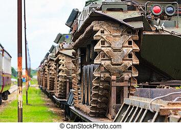 militar, tanks.