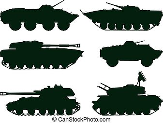 militar, vehículos, soviético