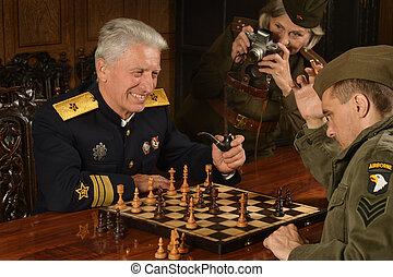 militare, maturo, generale