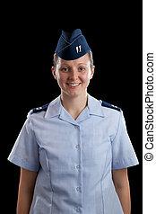 militare, ragazza