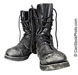 militare, stivali