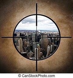 militare, york, nuovo, bersaglio