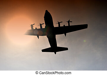 military aircraft hercules