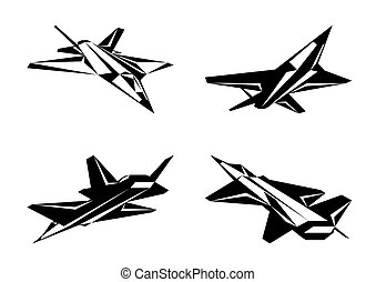 Military aircraft in perspective