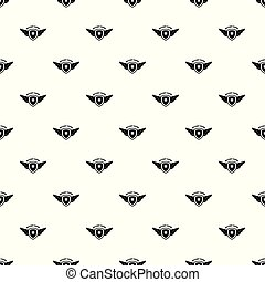 Military army patrol pattern seamless vector