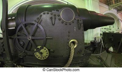 Military artillery gun