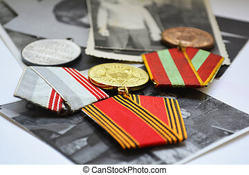 military awards, commemoration of t