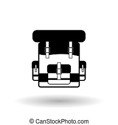 Military bag design , vector illustration
