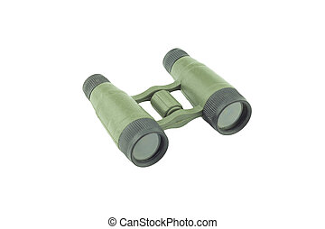 Military Binoculars isolated on white background