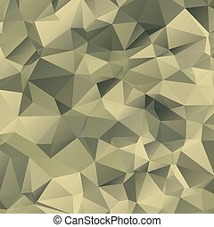 Military camouflage background - Vector illustration of...