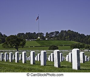 Military Cemetery in San Bruno