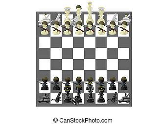 Military chess