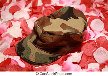 Don\\\'t forget - Military cover on rose pedals. Military...