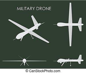 Military drone predator