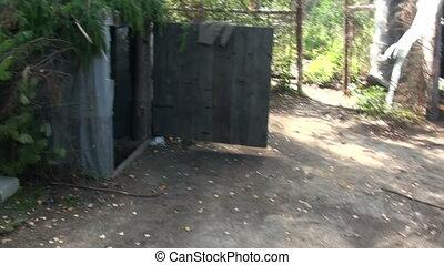 Military dugout