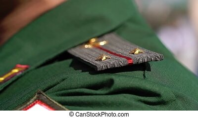 Military epaulets for soldiers - Military epaulets for...
