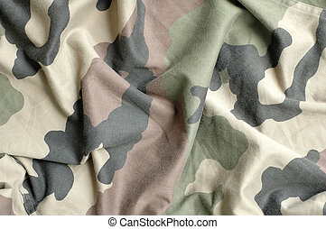 Military fabric pattern - texture of military fabric pattern...