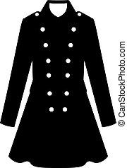 Military female uniform