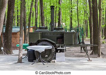 military field kitchen