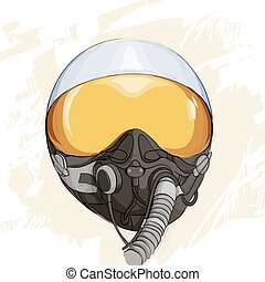 Military flight helmet