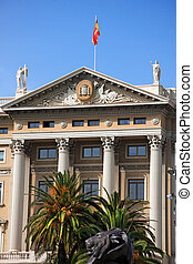 Military Government - Barcelona Spain