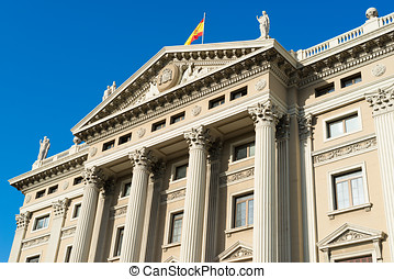 Military government building barcelona
