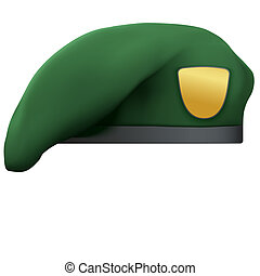 Military Green Beret Army Special Forces