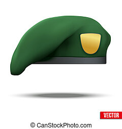Military Green Beret Army Special Forces - Military Green...