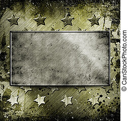 Military Grunge background with place for text