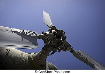 Military helicopter - Details of military helicopter