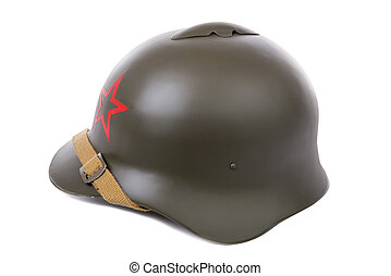 military helmet of the Soviet Army - military helmet of the...