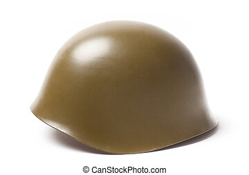 Military Helmet with Clipping Path