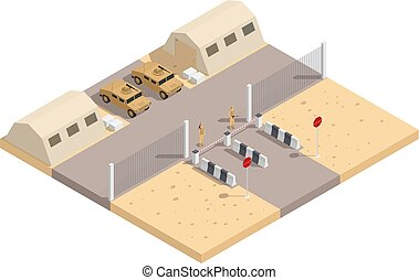 Military Isometric Composition - Military isometric ...
