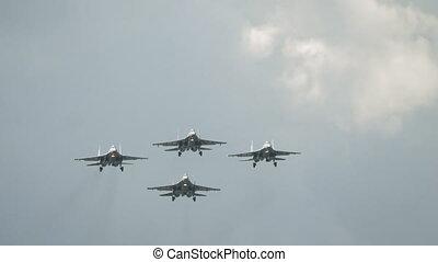 Military jets Squadron aerobatic team - Squadron military...