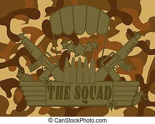 Military Logo the Squad