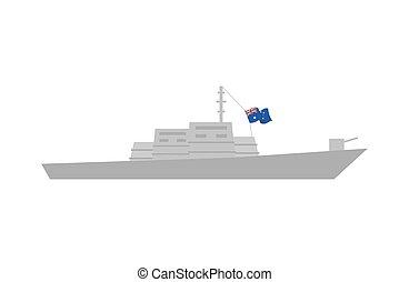 Military machinery illustration