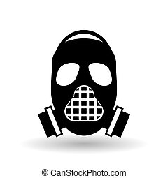 Military mask design , vector illustration